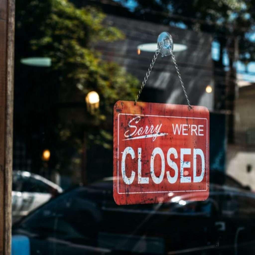 pandemia paralizó los negocios